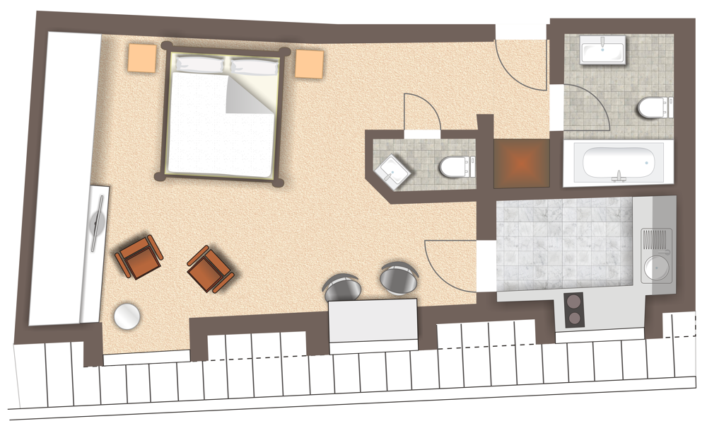 Grundriss Wohnung 999
