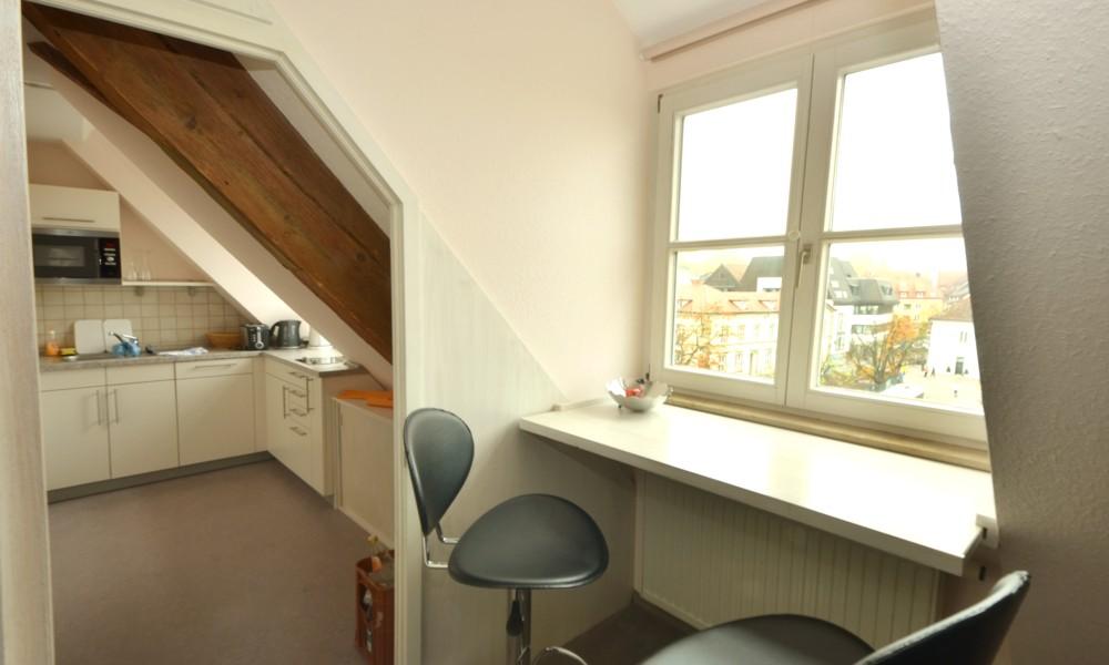 Essplatz und Küche Wohnung 999